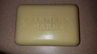 Farmers' Market Lemongrass Basil Soap