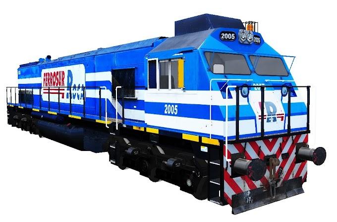 NREC E2300CW 2005 - Ferrosur Roca