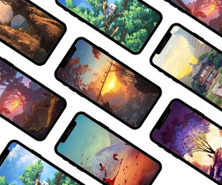 7 Beautiful phone wallpapers