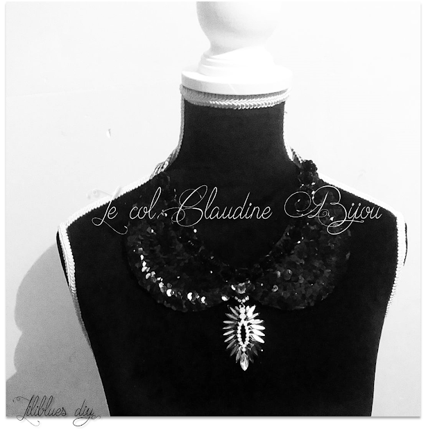 DIY-Col claudine-peter pn collar -sequin -necklace