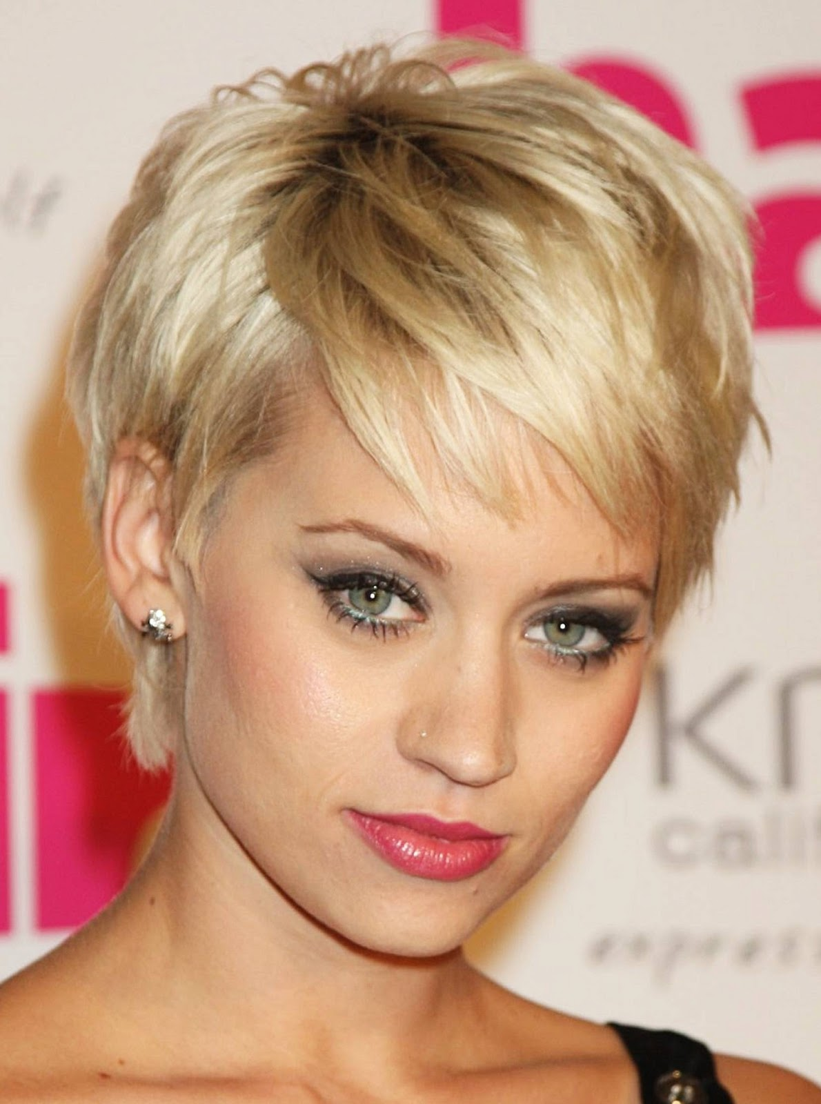 Short Hairstyles With Double Chin Face