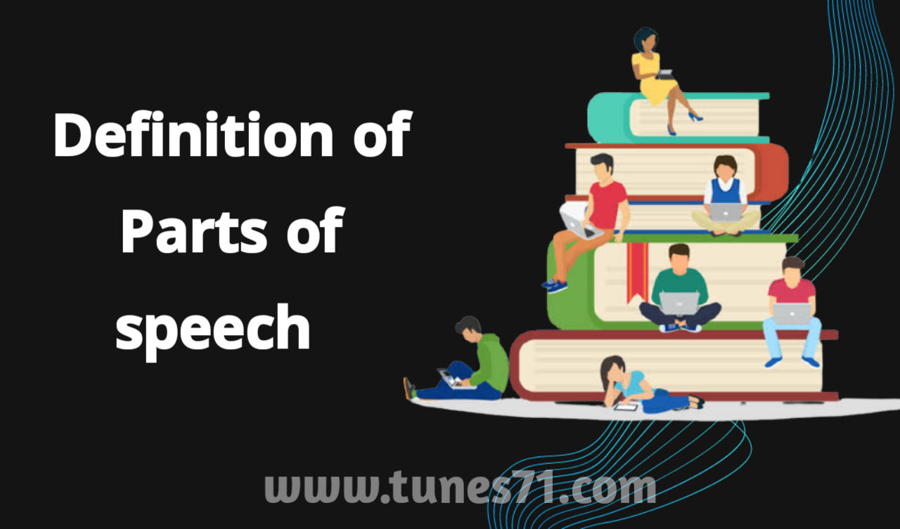 What is Parts of speech,Definition & Example