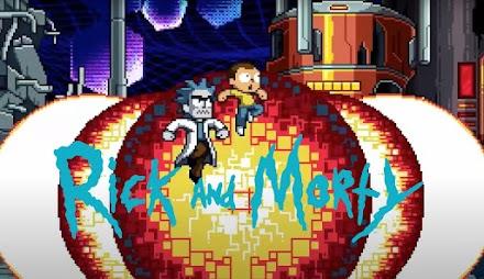 Rick and Morty in the Eternal Nightmare Machine | Paul Robertsons Pixelstuff als Kurzfilm