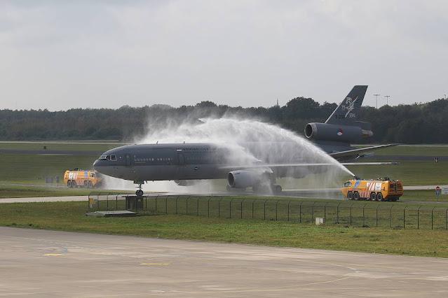 Dutch KDC10 tanker farewell
