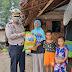 Dirlantas Polda Aceh Bantu Keluarga Kurang Mampu Di Desa Kajhu Aceh Besar