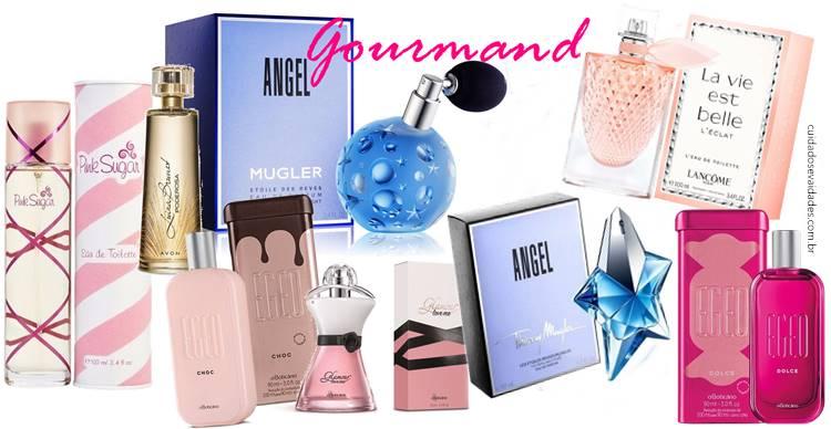 Perfumes gourmand
