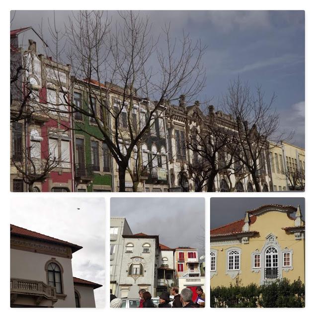 Fachadas de edifícios do Porto