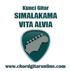 Dm          C Kuturuti ku mati emak           Gm  C          Dm Tak dituruti Kunci Gitar VITA ALVIA - SIMALAKAMA (Original Chord)