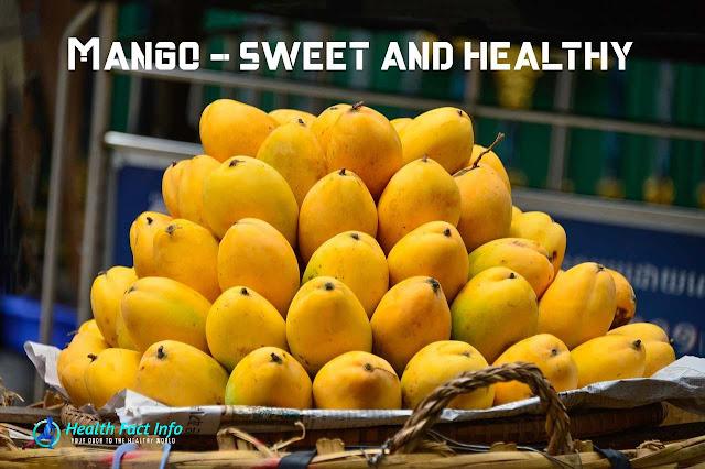 Mango - sweet and healthy