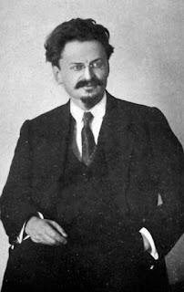 Photographie de Trotski en 1917