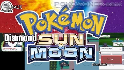 Pokemon Diamond Sun and Moon