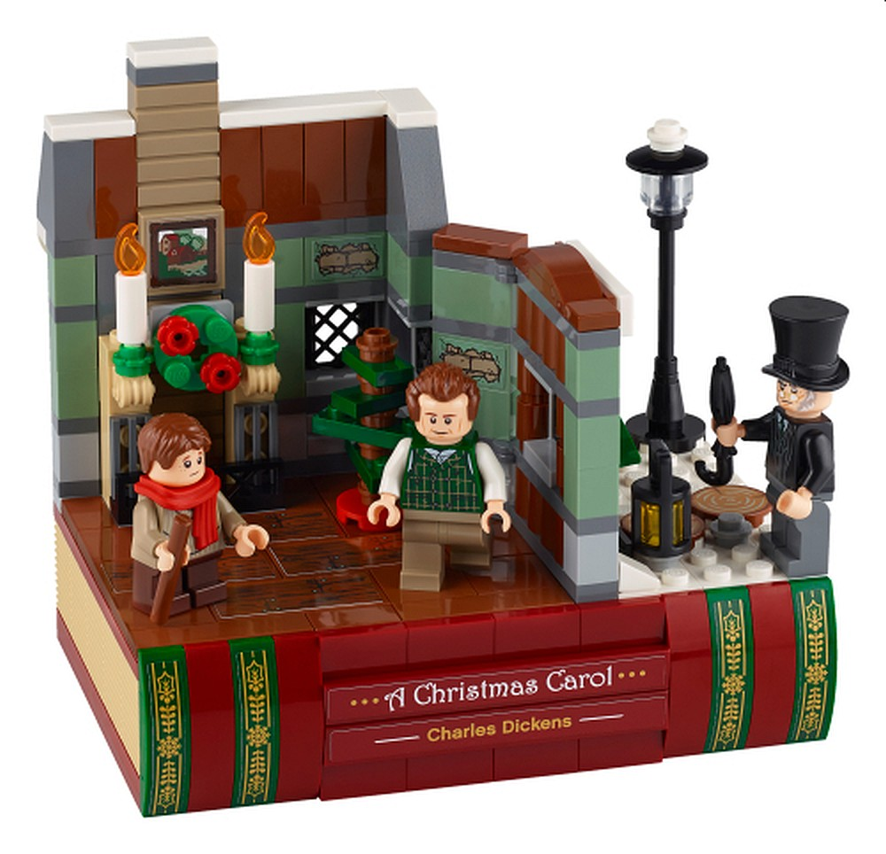 レゴ(LEGO)「40410 クリスマス・キャロル:チャールズ・ディケンズ・トリビュート」ミニセット登場!チャールズ・ディケンズの定番ストーリーがテーマの新製品(2020)