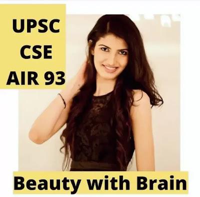 UPSC में 93वीं रैंक लाने वाली मॉडल रहीं ऐश्वर्या की कहानी सबको जाननी चाहिए   Aishwarya sheoran biography in hindi,Miss India,IAS Officer,UPSC Topper, Boyfriend & more
