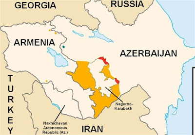 The border area in Khoda Afarin county is the closest region to the common border with the Republic of Azerbaijan and Armenia