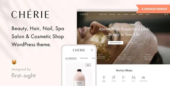 Best Beauty Salon WordPress Theme