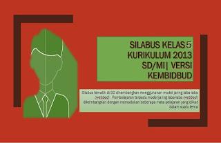 Download Silabus kelas 5 Kurikulum 2013