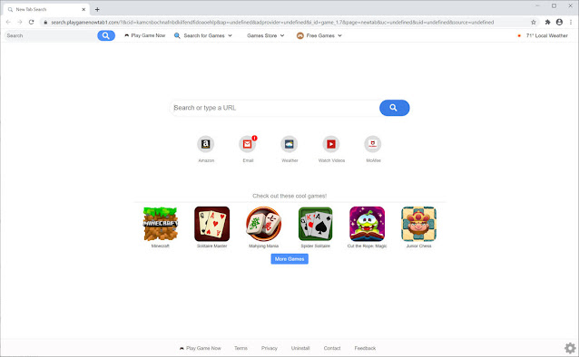 Search.playgamenowtab1.com (Hijacker)