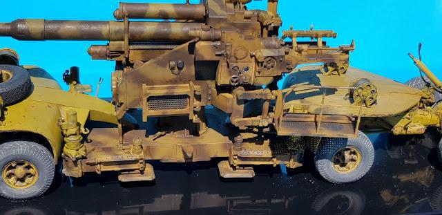 Sd. Anhänger 220 et Flak 40 20200425_114326