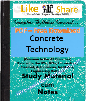 Concrete Technology Notes Pdf