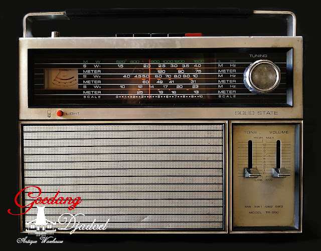 radio antik telesonic tr 550