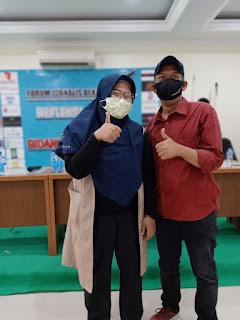 Sah ..Leny Pimpin Forum Jurnalis Bekasi