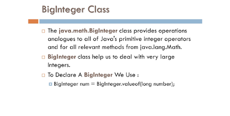 How to use BigInteger in Java