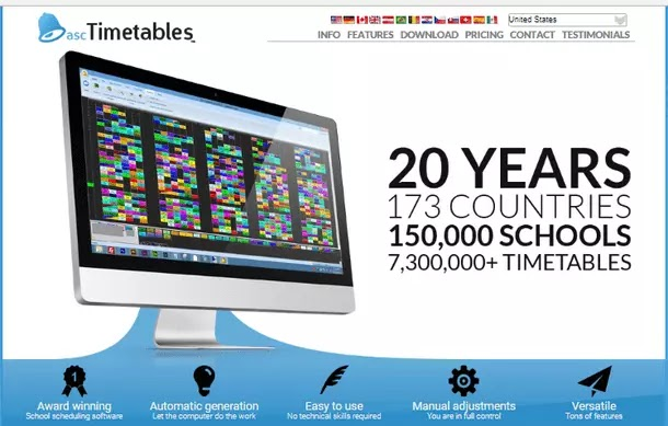 School Timetables Software - aSc Timetables