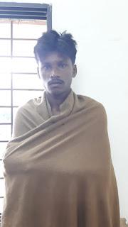 घाघरला वन क्षैत्र से एक और अतिक्रमणकारी को पुलिस ने किया गिरफ्तार