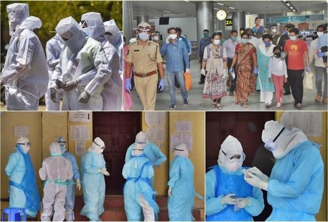 देश में पिछले 24 घंटों में 3.11 लाख लोग हुए संक्रमित