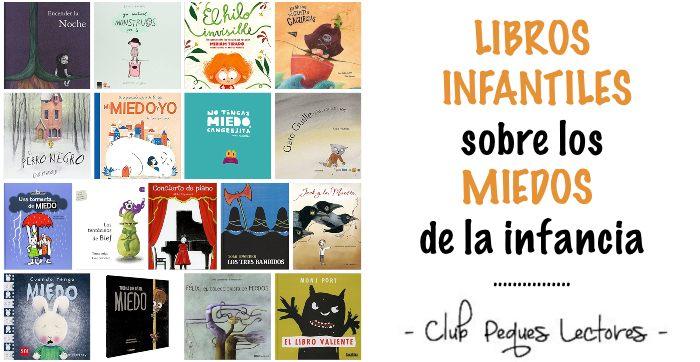 cuentos libros infantiles miedos infancia niños