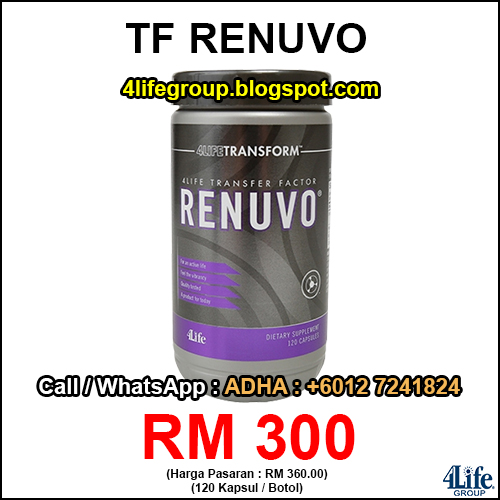 foto 4Life Transfer Factor Renuvo