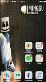 Tema Oppo Marshmellow versi 1 Android