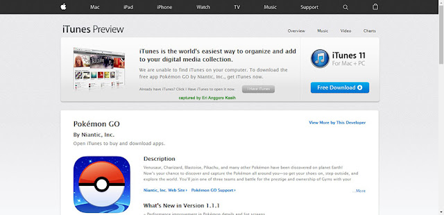 Screen capture App Store iOS.