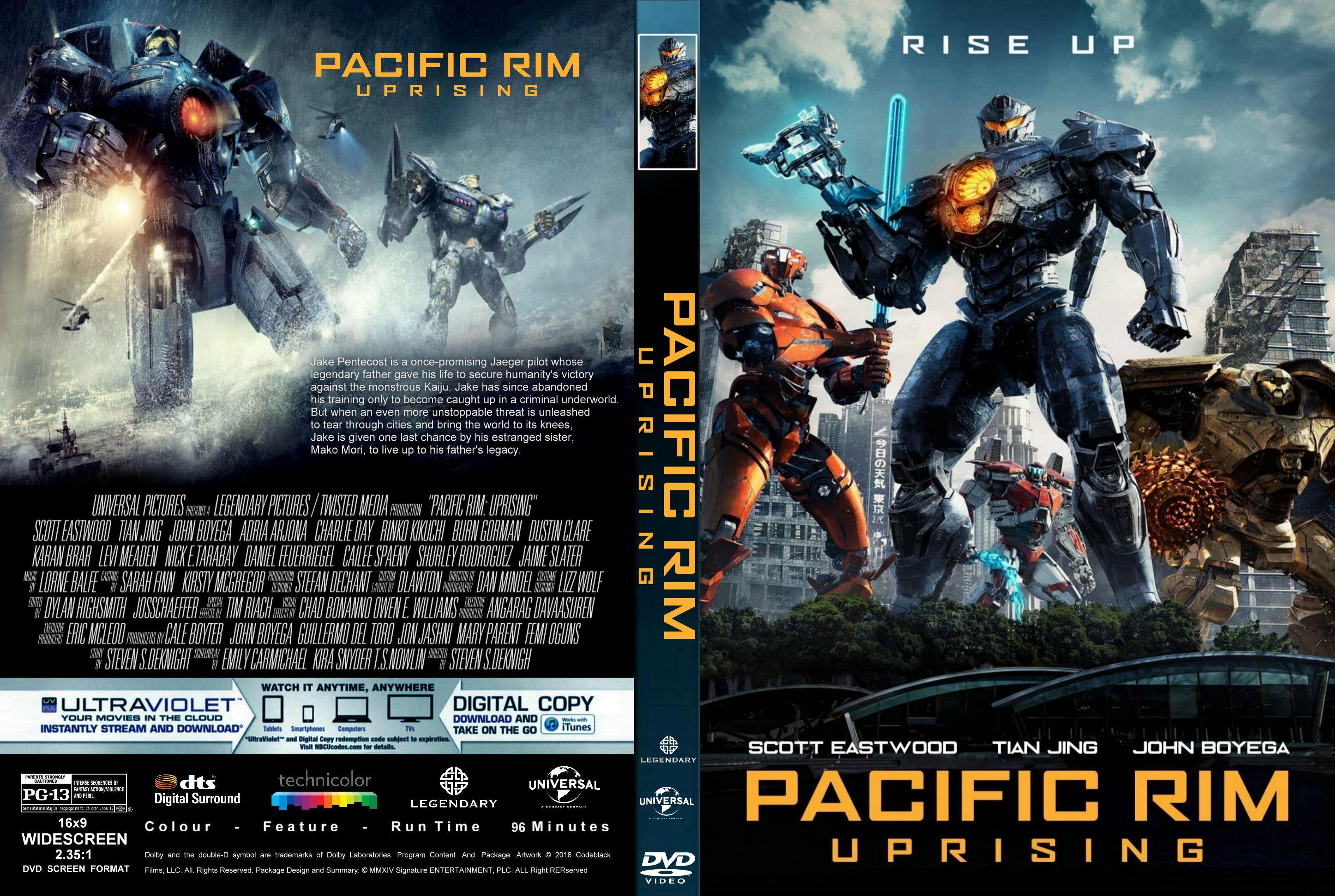 Pacific Rim Uprising DVD Cover - Cover Addict - DVD and ... Pacific Rim Blu Ray Cover