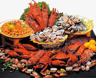 مشروع  صغير مطعم اسماك وماكولات بحريه