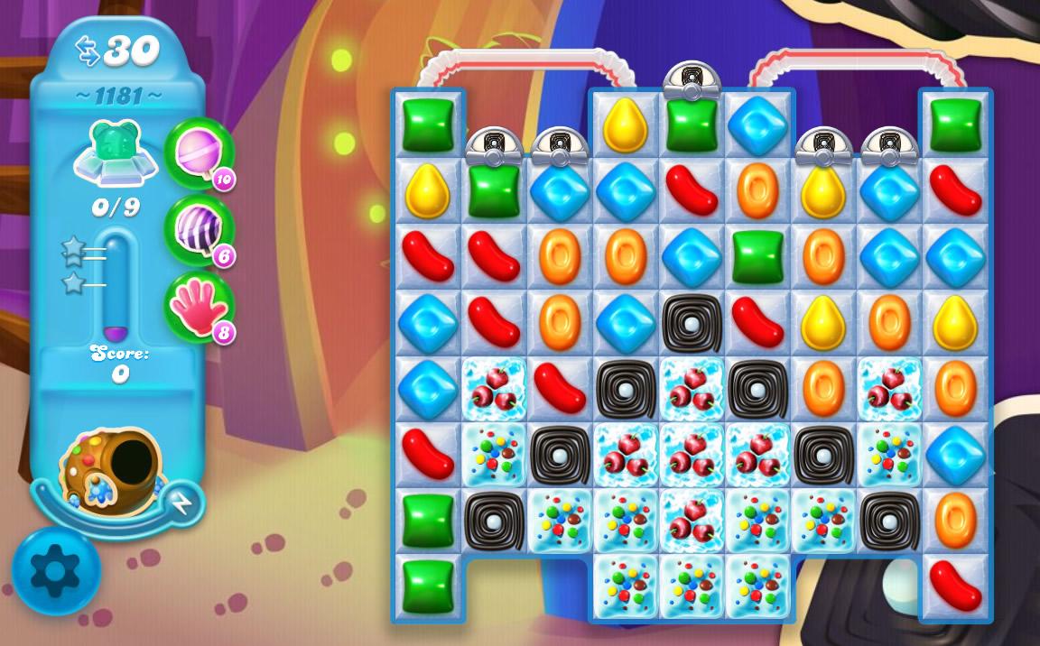 Candy Crush Soda Saga level 1181