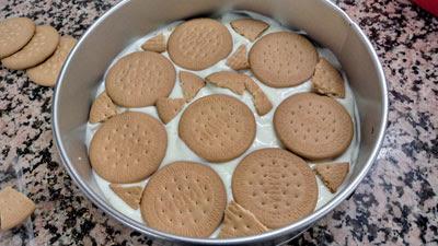 y las capas de galletas