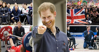 Prince Harry meets para-athletes in Japan