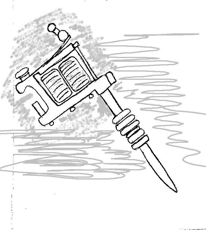 Petaled: Custom Design, The Tattoo Gun Tribute