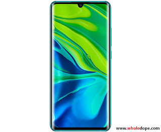 Xiaomi note 10 full specifications