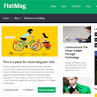 FlatMag Responsive Blogger Template | Templateism