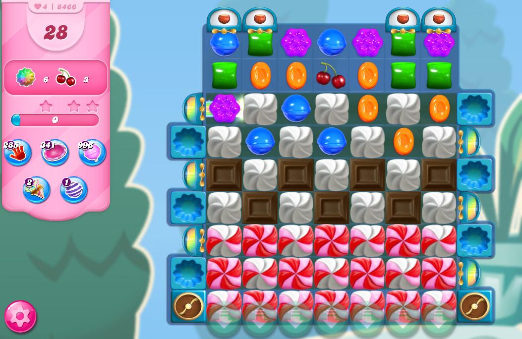 Candy Crush Saga level 8466