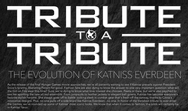 Tribute to a Tribute: The Evolution of Katniss Everdeen