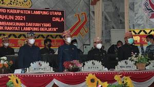 Bupati Lampura Jadikan Peringatan HUT Provinsi Lampung ke-57 Sebagai Momentum Membangun Daerah