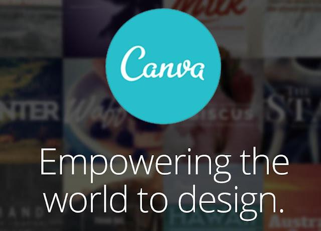 Create beautiful images using canva