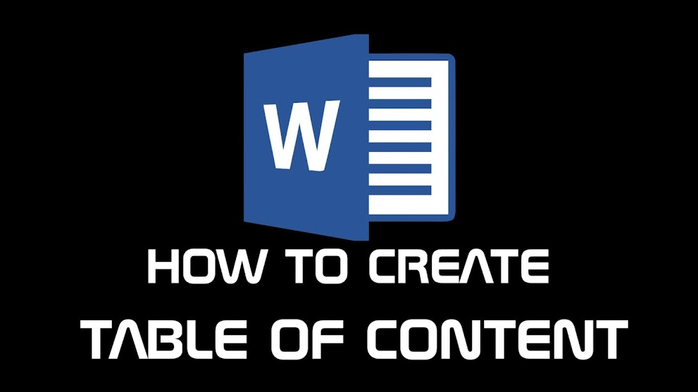 How To Create Table Of Content In Word