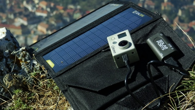 How To Charge Your Phone With A Portable Solar Panel Video