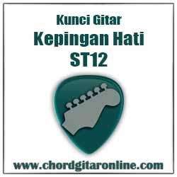 Chord ST12 Kepingan Hati