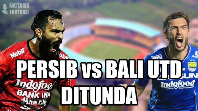Jadwal Persib vs Bali United Mengalami Perubahan