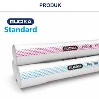 Harga Pipa PVC RUCIKA Update 2021